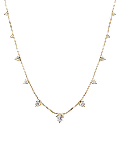 Orien Charm Necklace- Gold