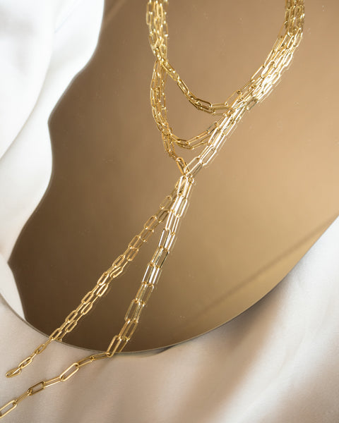 Maja Lariat- Gold (Ships Early February)