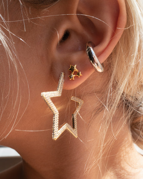 Stardust Studs- Gold (Ships Mid April)