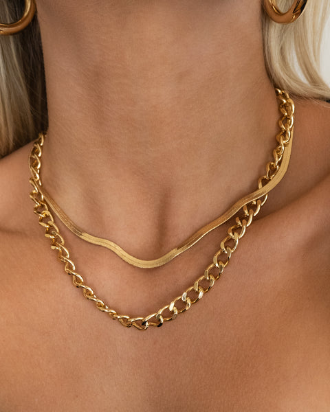 Barcelona Necklace | Sivan Ayla x Luv Aj (Ships Mid May)