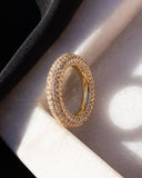 Pave Amalfi Ring- Gold