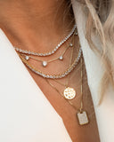 Ballier Necklace- Gold (Ships Mid April)