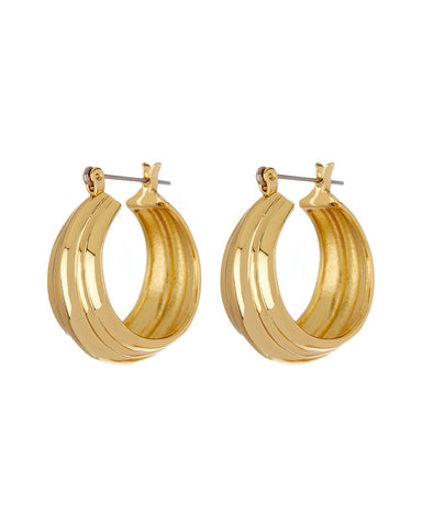 Rosetta Hoops- Gold (Ships Late April)