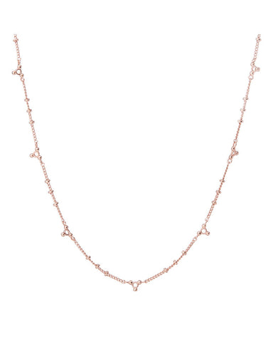 Marrakech Charm Necklace- Rose Gold
