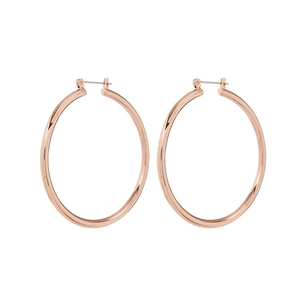 The Milan Hoops- Rose Gold