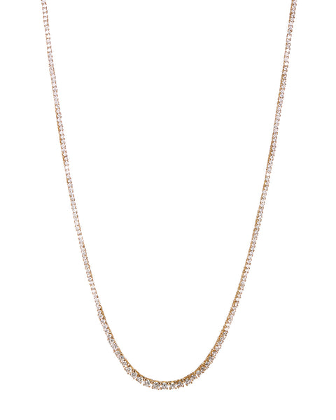 Ascending Ballier Necklace- Gold