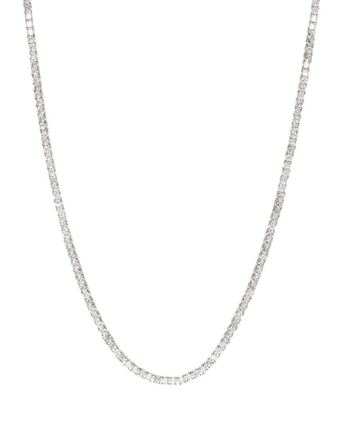 Ballier Necklace- Silver