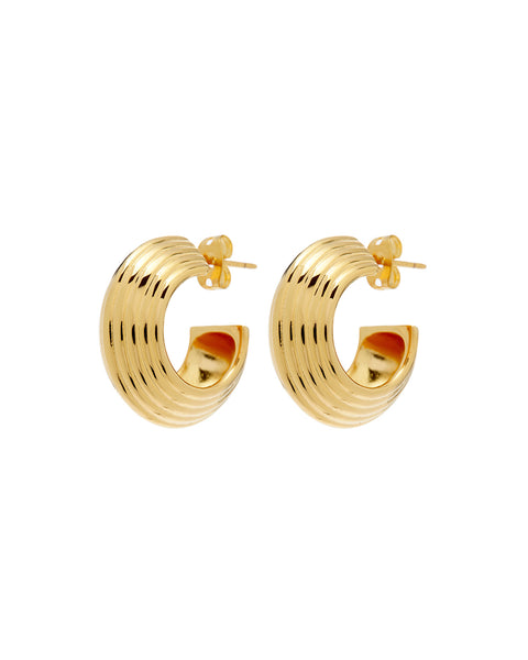 Corfu Hoops- Gold