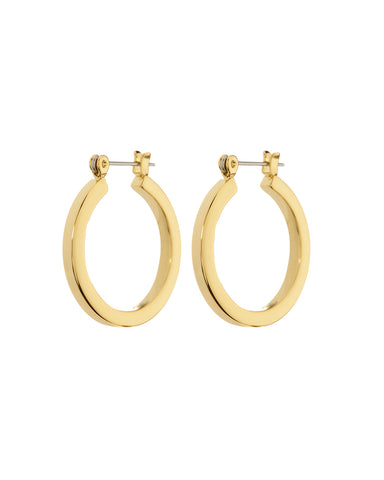 Mini Celine Hoops- Gold (Ships Late August)