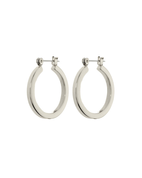 Mini Celine Hoops- Silver