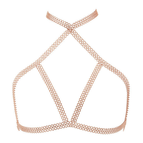 Lola Chain Bra- Rose Gold