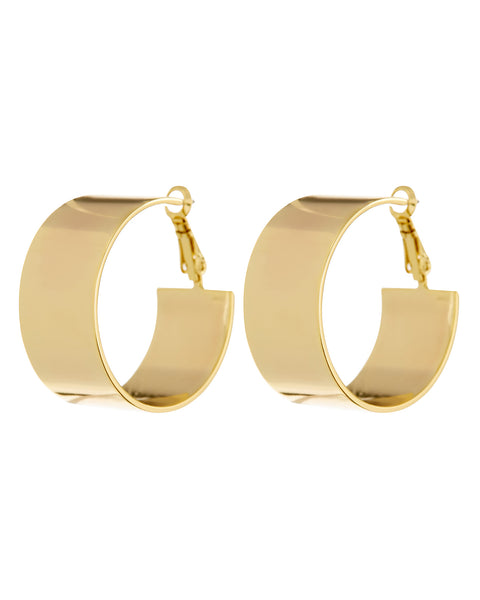 XL Positano Hoops- Gold