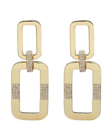 Rosie Knocker Earrings- Gold
