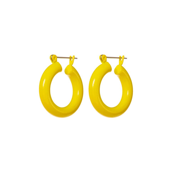 Rainbow Baby Amalfi Hoops- Yellow (Ships Early April)