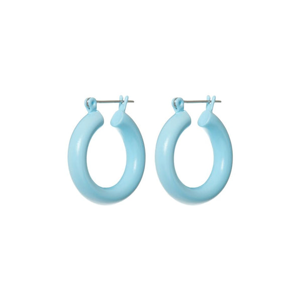 Rainbow Baby Amalfi Hoops- Baby Blue (Ships Early June)