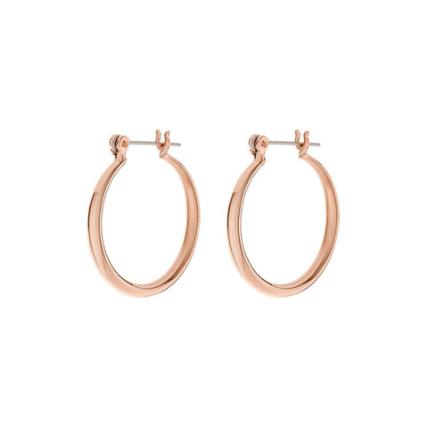 Baby Lucca Hoops- Rose Gold