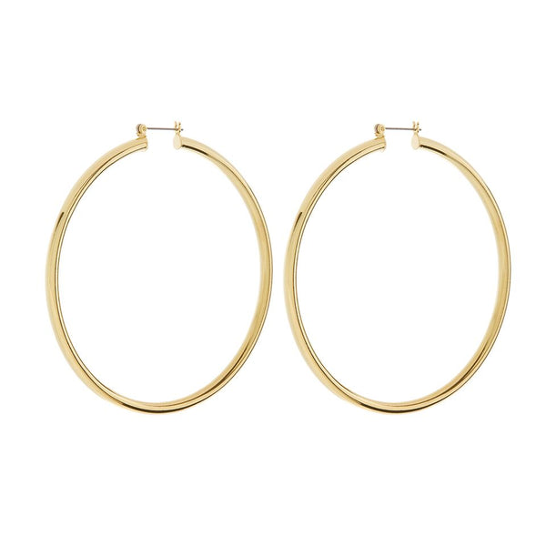XL Amalfi Hoops- Gold