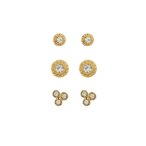 The Moroccan Studs Set- Gold
