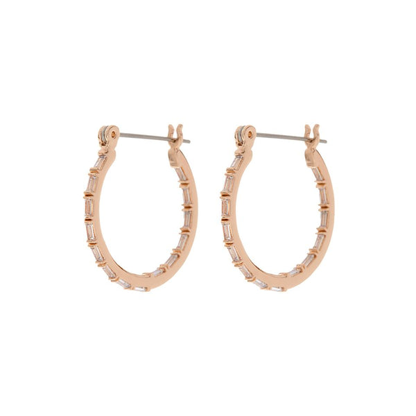 Baby Verona Hoops- Rose Gold