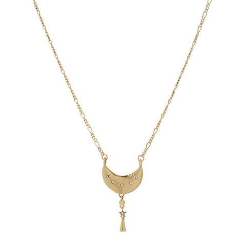 Celestial Charm Necklace- Gold