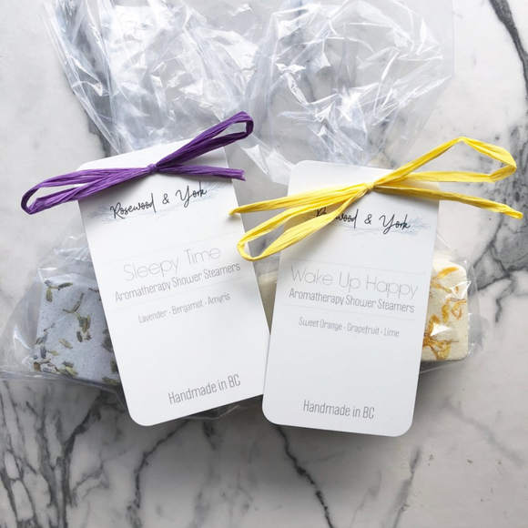 Aromatherapy Shower Steamers - Shower Favours - Rosewood & York