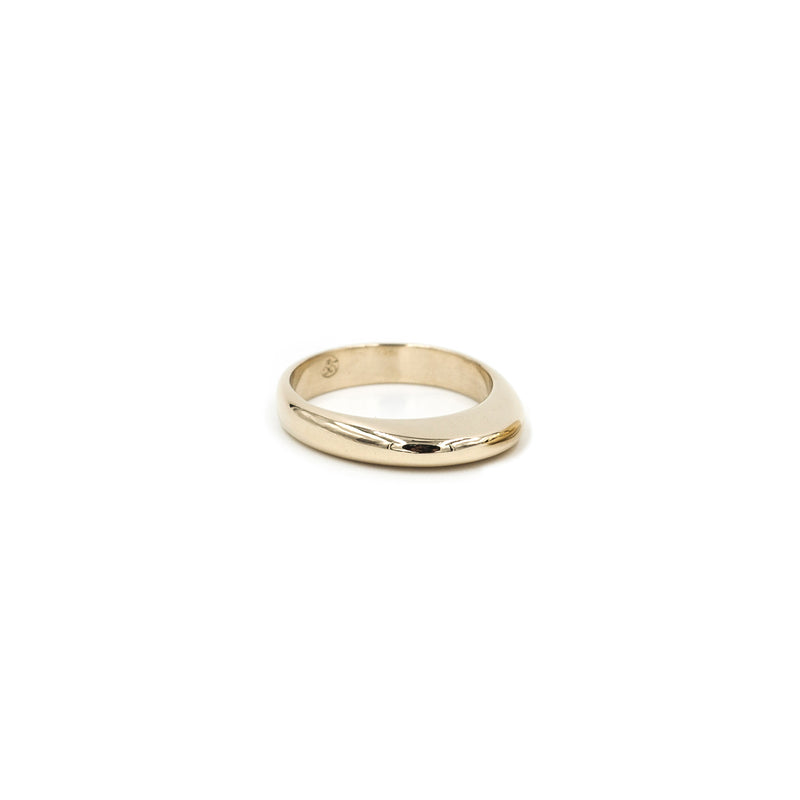PILI small bubble stacking ring in bronze from MGG Studio