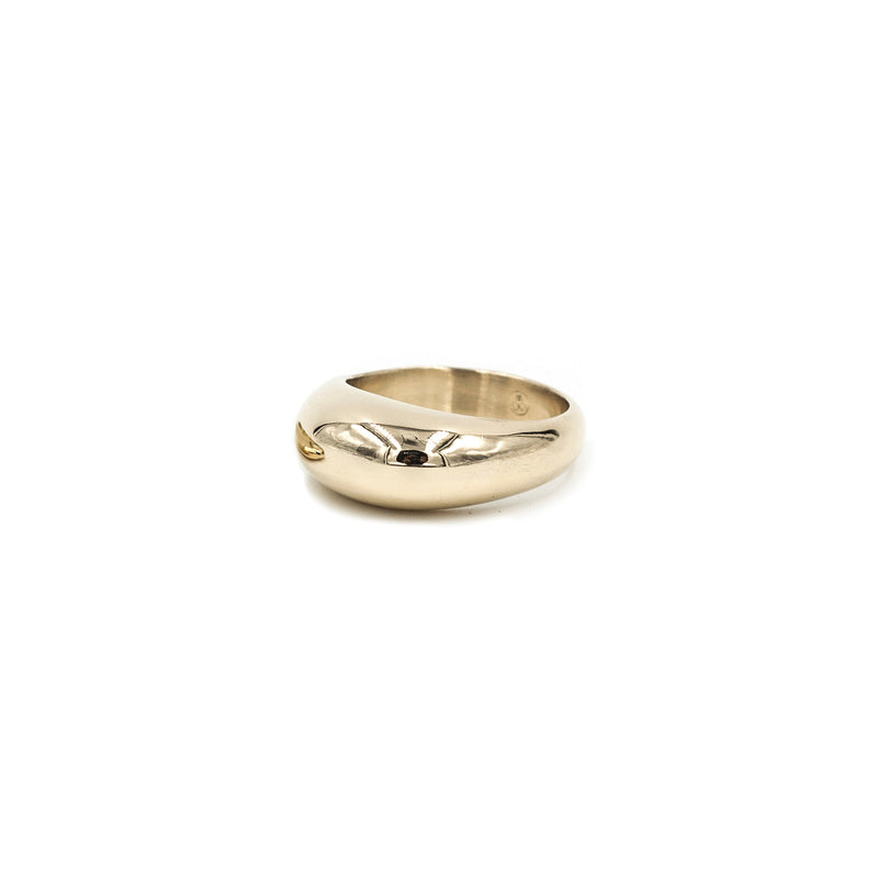 PIRO bubble ring in bronze from MGG Studio