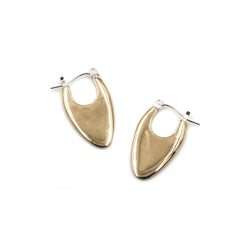 SITA hoop earrings in bronze from MGG Studio