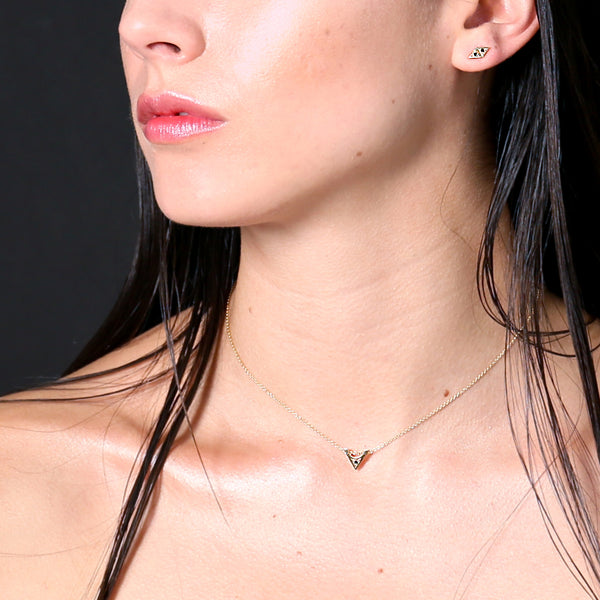 MGG Studio STELLA necklace on model