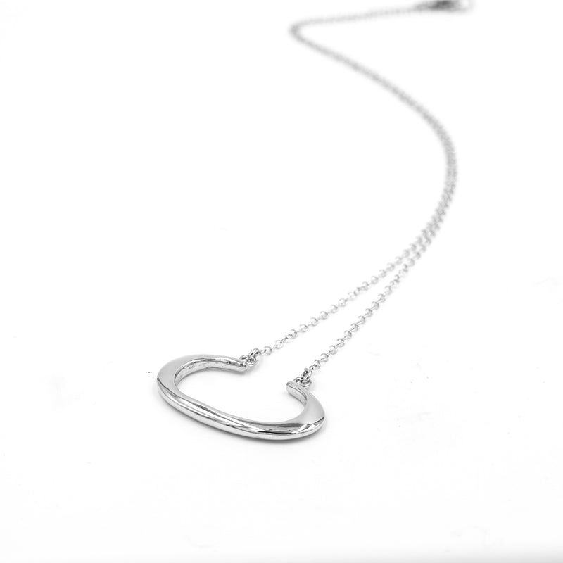 recycled silver THEA necklace from MGG Studio