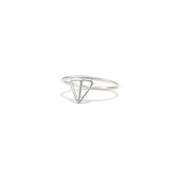 VELOS recycled silver stacking ring from MGG Studio