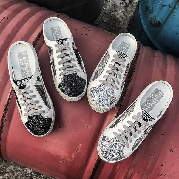 Women's Fashion Casual Half-Star Color Matching Sneakers