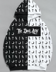 Dark Arts Split Hoodie (FREE Monogram Tee Included while Supplies Last) - thedarkarts