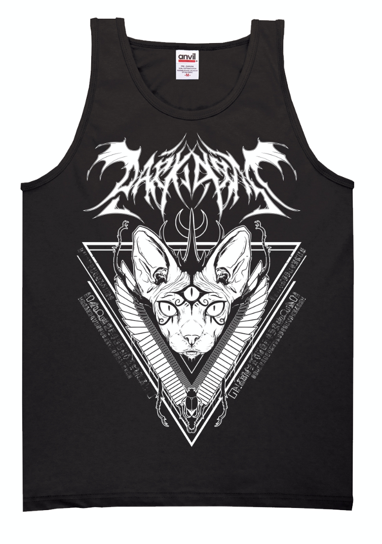 Dark Arts Summer Unisex Tank + Triblend Racerback ladies Tank (FREE LEST WE FORGET THE BEST OF BOTDF CD INCLUDED) - thedarkarts