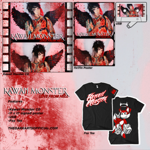 "Pre Order - KAWAII MONSTER ""Love From Hell"" Album (Free Signed 11x17 Poster + USB TAPE) - thedarkarts"