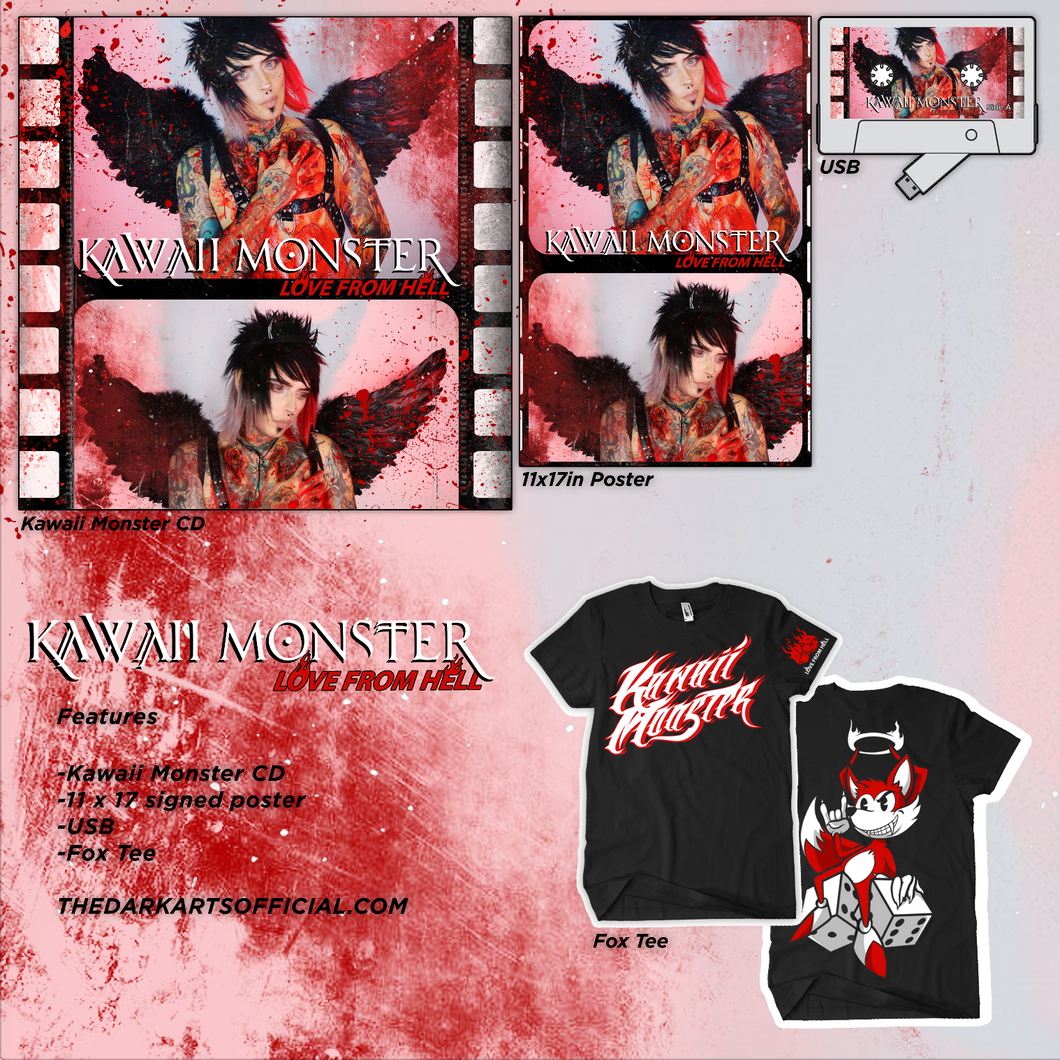 Pre Order - KAWAII MONSTER