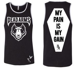Dark Arts - DEAD ARMS UNISEX GYM SHIRT (FREE BAD BLOOD DELUXE INCLUDED) - thedarkarts
