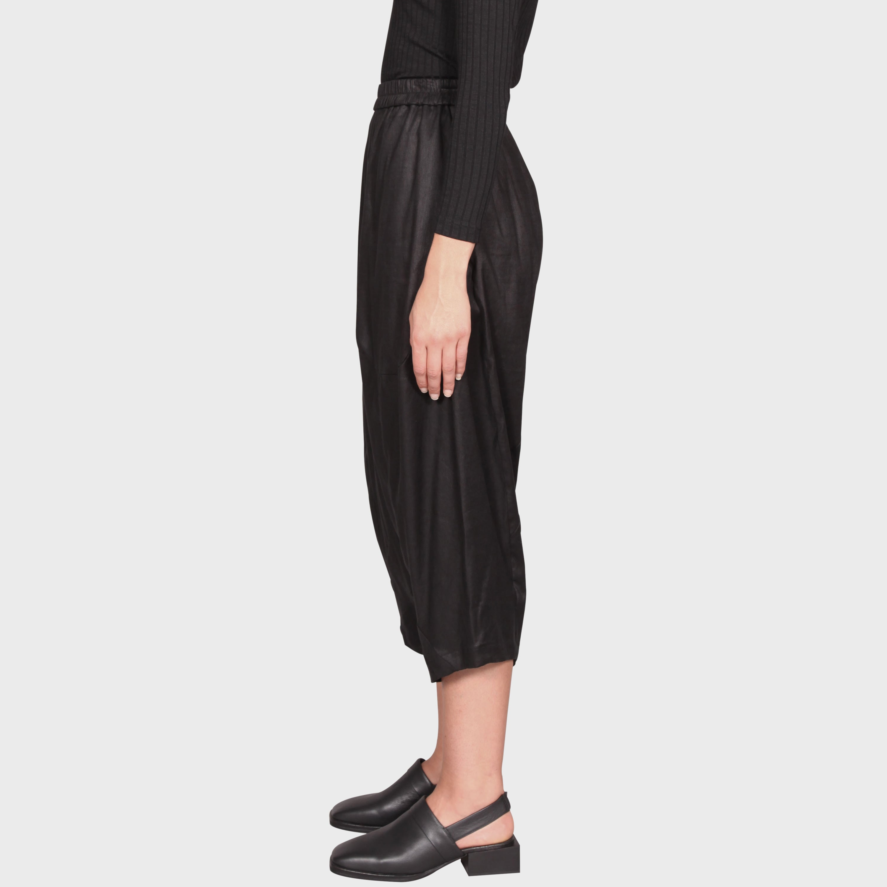 OLYMPIA PANT / BLACK