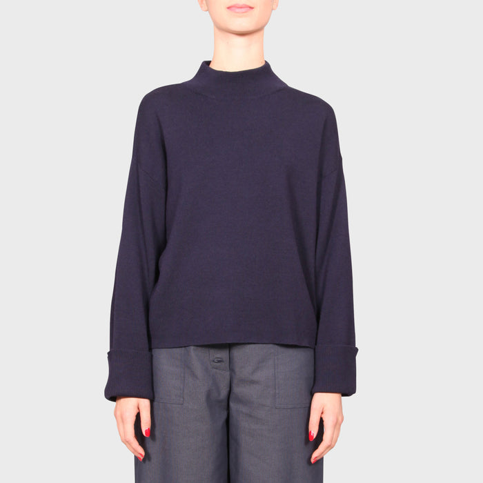 CLIO KNIT SWEAT / NAVY