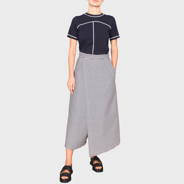 SERA CULOTTE / NAVY-CREAM