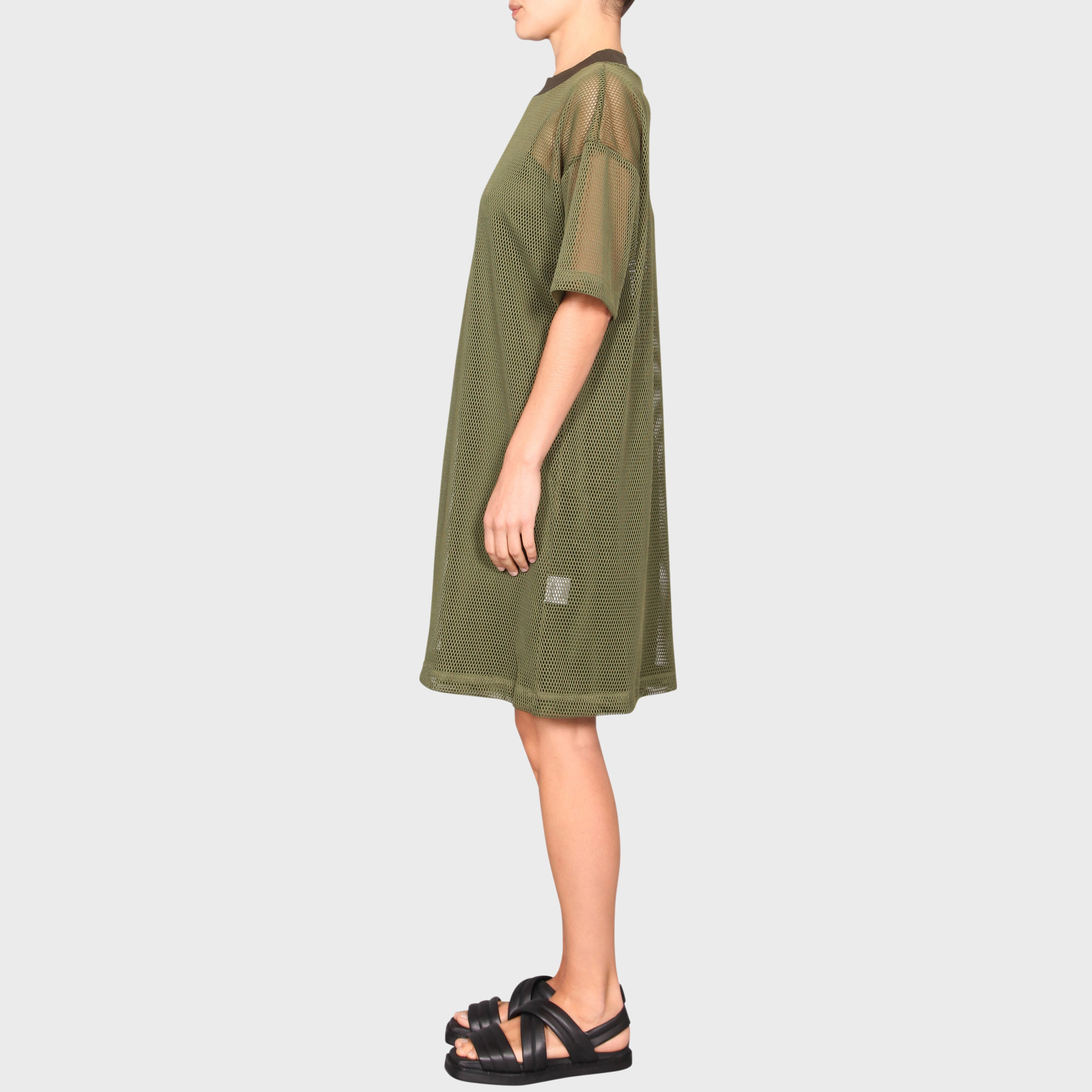 MEGAN DRESS / KHAKI