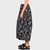 ARLO PANT / BLACK-WHITE