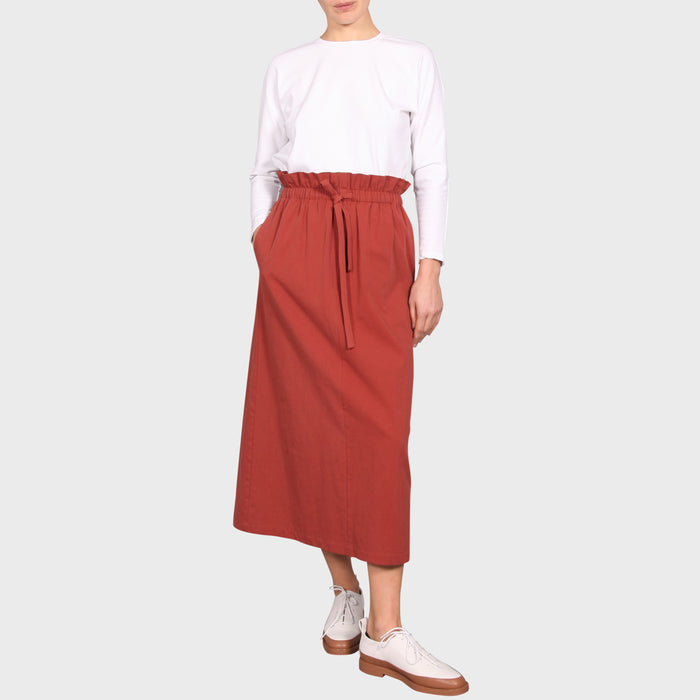POLLY SKIRT / TERRACOTTA