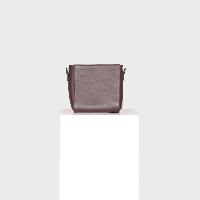 ASHLEY BAG / DARK BROWN
