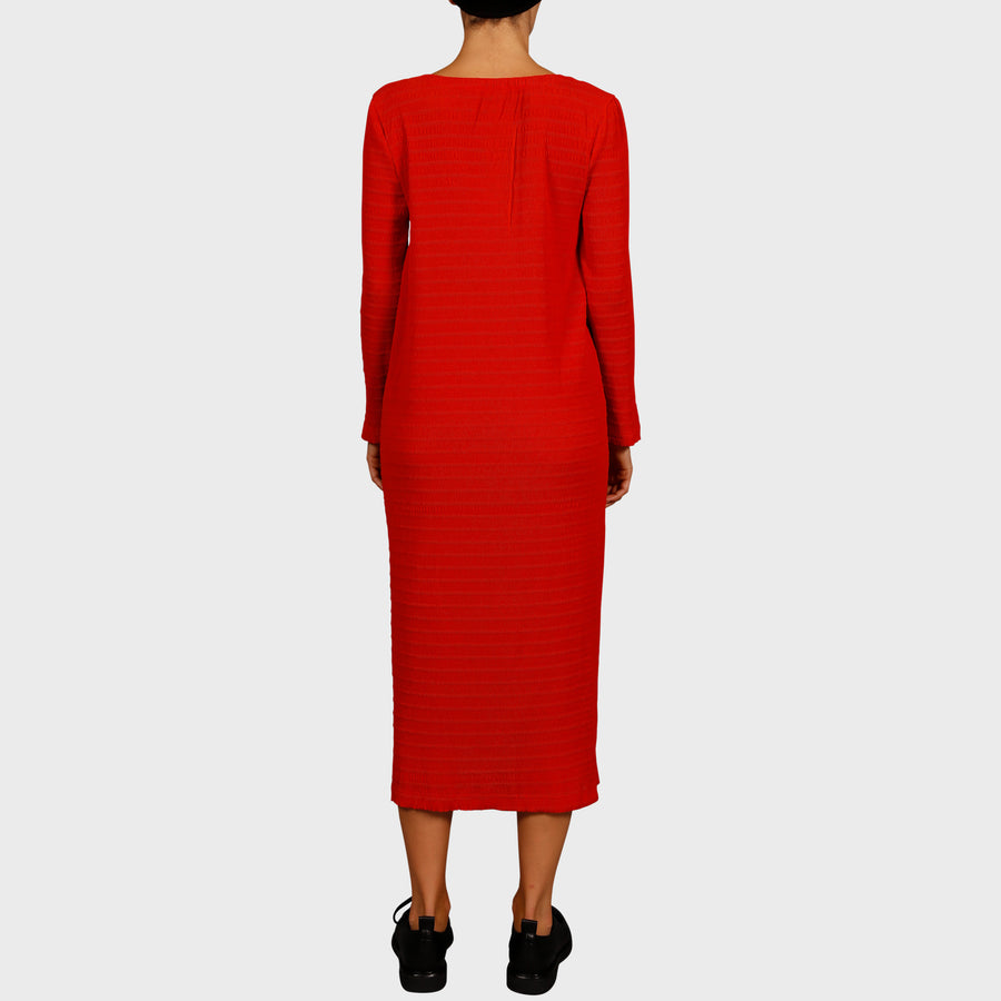CHRISTIE DRESS / RED