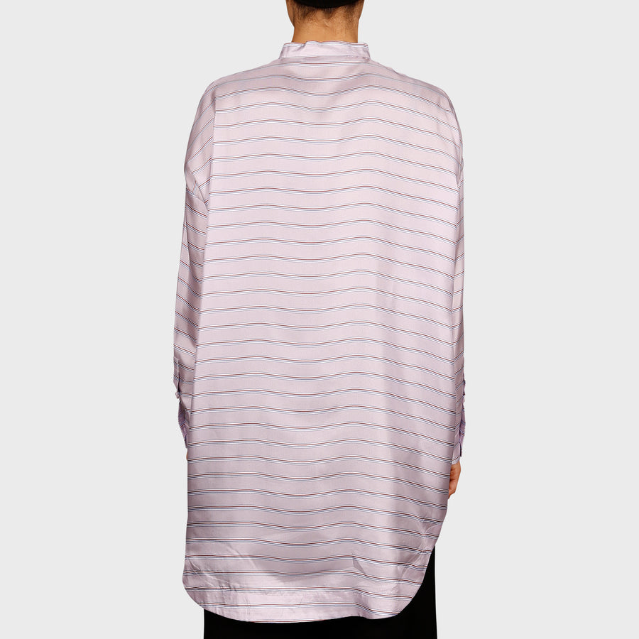 MARY SHIRT / LILAC STRIPE