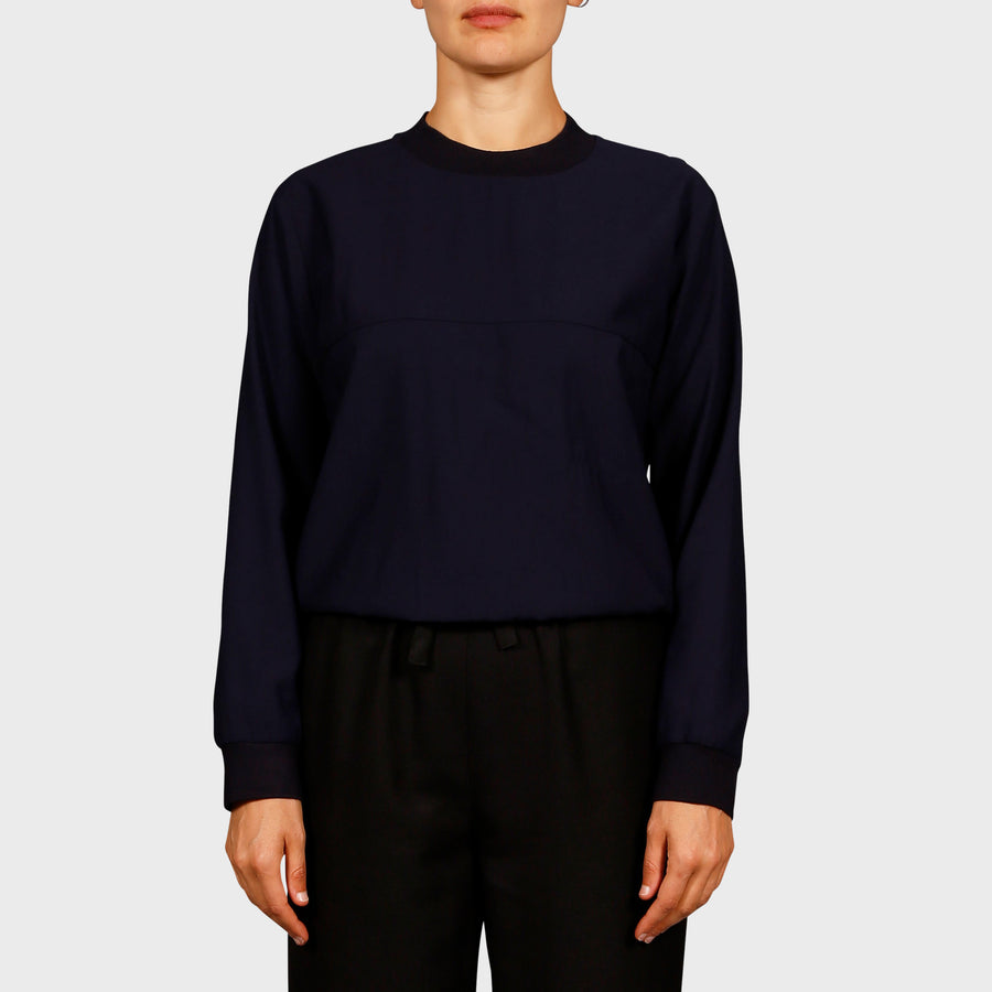 ASHLEY SWEAT / NAVY
