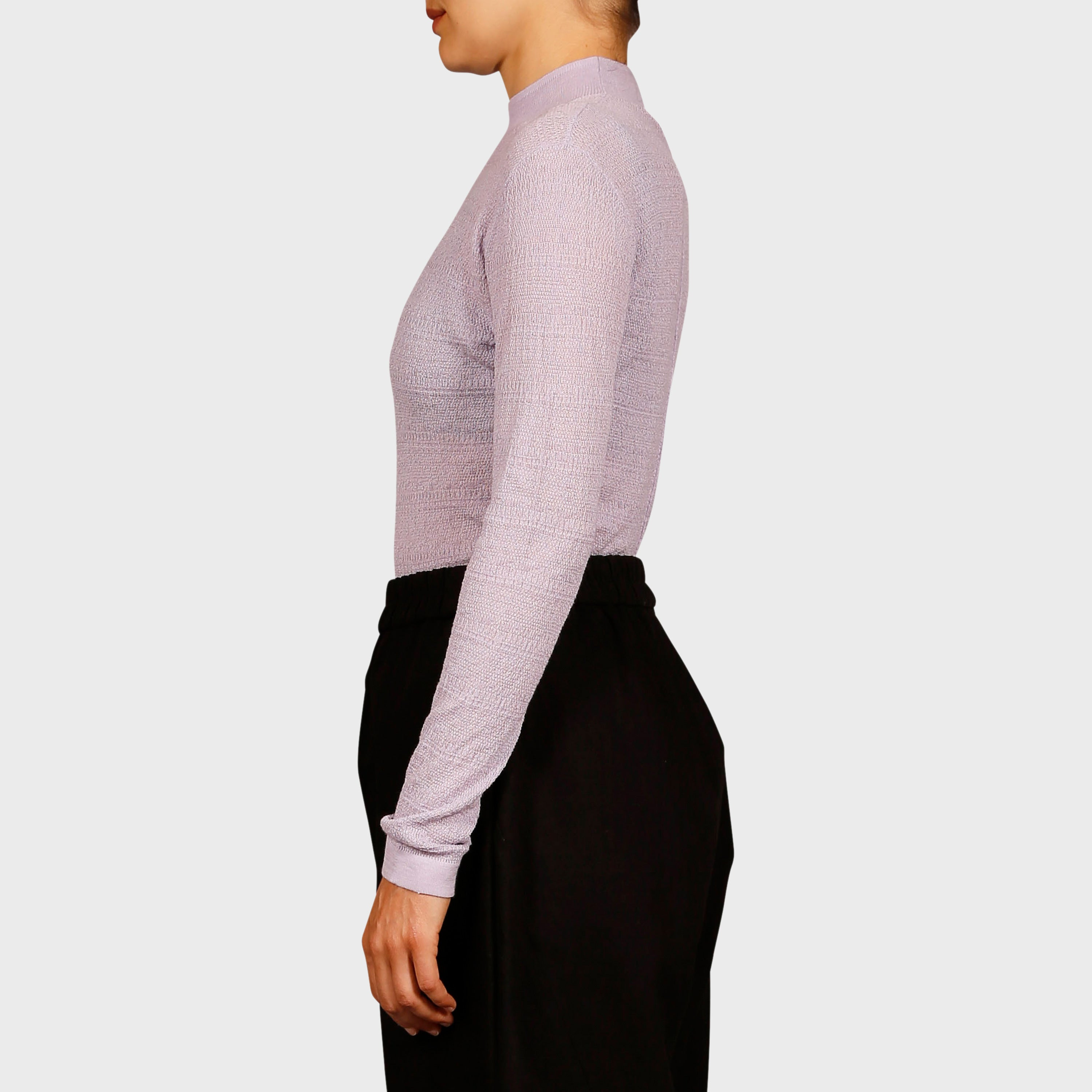 ZOE KNIT TOP / LILAC