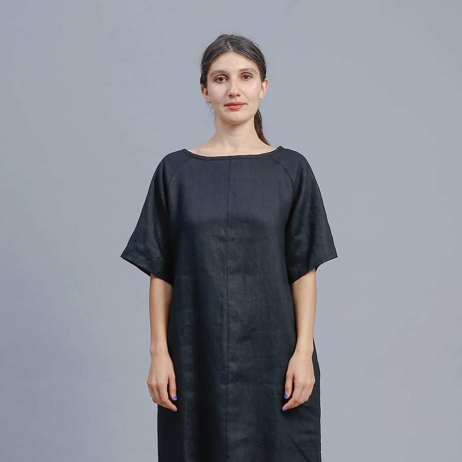 EDEN DRESS / BLACK