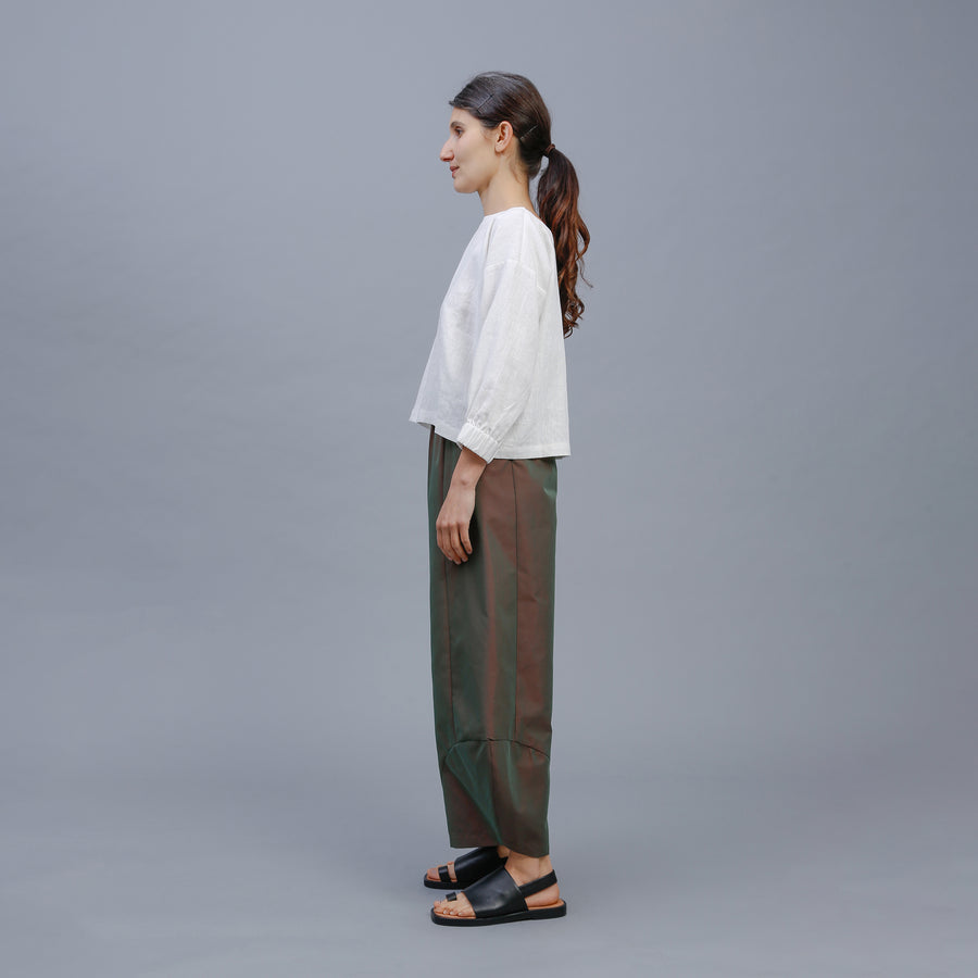DELILAH PANT / GREEN SHOT